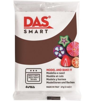 Полимерная глина (паста) для моделирования DAS SMART 321028, 57 гр., Шоколадная