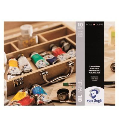 Альбом для масла Van Gogh ROYAL TALENS, 30х40см, 240гр, 10л склейка