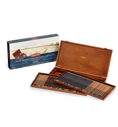 Набор цветных карандашей Derwent Limited Edition Coloured 120 штук, в деревянной коробке