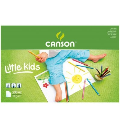 Альбом CANSON Discovery&Learning, 90гр., 42*59.4см, 20л., склейка