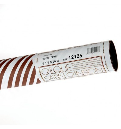 Калька CANSON 0.375*20м 90 г/кв.м, в рулоне