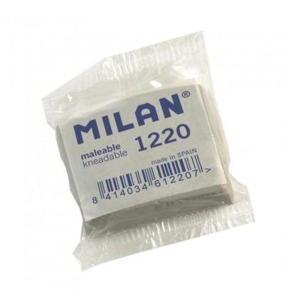 Ластик - КЛЯЧКА Milan 1220, 37х28х10мм, каучуковый