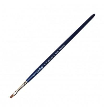 Кисть колонок ROYAL TALENS Van Gogh 132S, № 4, плоская укороченная, короткая ручка