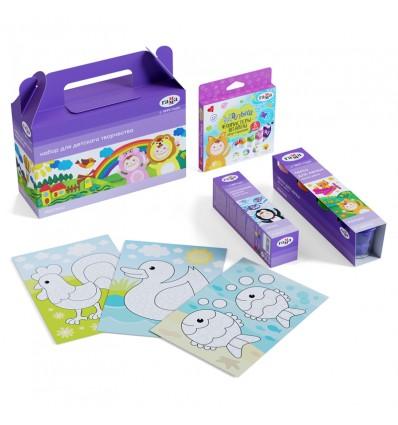 Набор подарочной для детского творчества ГАММА Малыш, 4 предмета