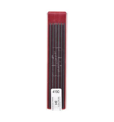 Грифели для цанговых карандашей Koh-i-Noor 4190/3H, 2,0 мм, 12 штук