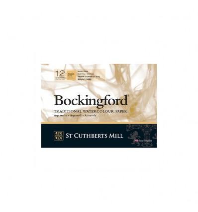Альбом для акварели Saunders Bockingford Rough White (Торшон - крупное зерно), 18х13см, 300г/м2, 12 листов