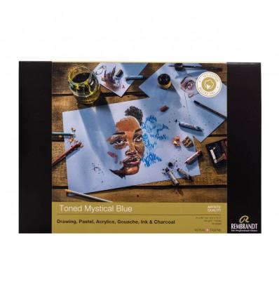Альбом для пастели Rembrandt ROYAL TALENS А4 21х29.7см, 160гр. 30л., Синие тона, Склейка