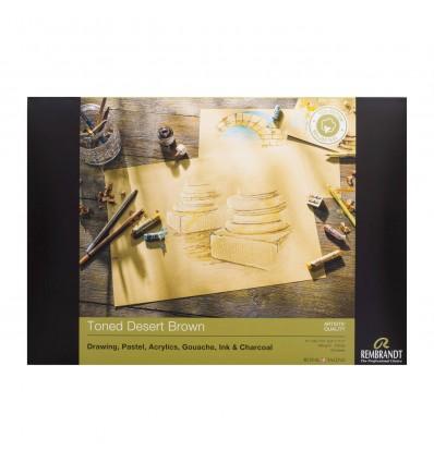 Альбом для пастели Rembrandt ROYAL TALENS А4 21х29.7см, 160гр. 30л., Коричневые тона, Склейка