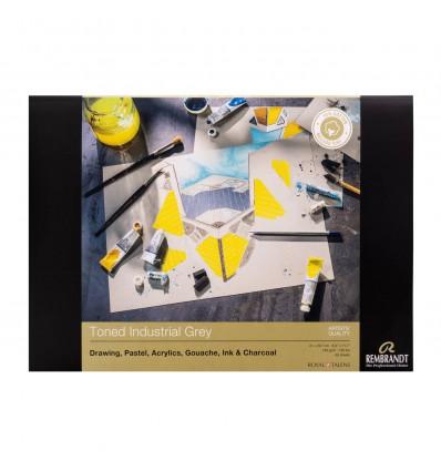 Альбом для пастели Rembrandt ROYAL TALENS А4 21х29.7см, 160гр. 30л., Серые тона, Склейка