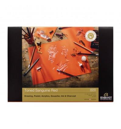 Альбом для пастели Rembrandt ROYAL TALENS А3 29х42см., 160гр. 30л., Красные тона, Склейка