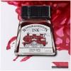 Тушь художественная Winsor&Newton Drawing Ink для рисования с пипеткой, 14мл, Цвет: Насыщенный красный