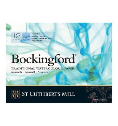Альбом для акварели Saunders Bockingford С,P, White (ФИН - среднее зерно), 41х31см, 300г/м2, 12 листов