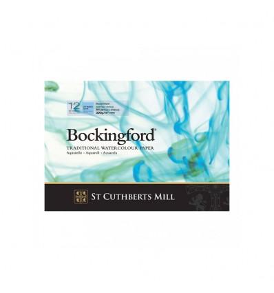 Альбом для акварели Saunders Bockingford С,P, White (ФИН - среднее зерно), А4 (29,7х21см), 300г/м2, 12 листов