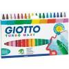Набор утолщенных фломастеров GIOTTO TURBO MAXI d-5мм, 18 цветов