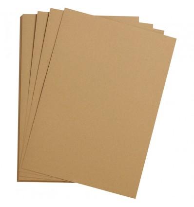 Бумага цветная Clairefontaine Etival color, 500*650мм., легкое зерно Хлопок., 24 листа, Шампанское