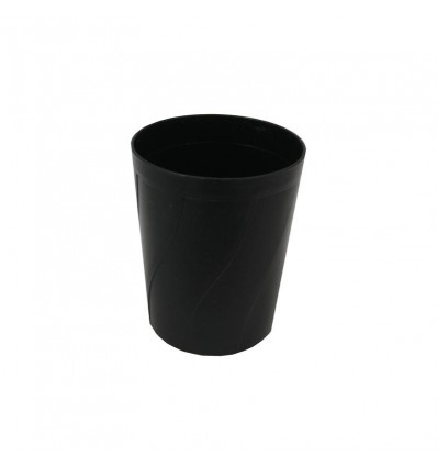 Подставка стакан для ручек и карандашей Attache Line черный