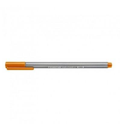 Ручка капиллярная STAEDTLER Triplus fineliner 334, 0,3мм, Цвет: Неон оранжевый