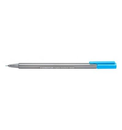 Ручка капиллярная STAEDTLER Triplus fineliner 334, 0,3мм, Цвет: Неон голубой