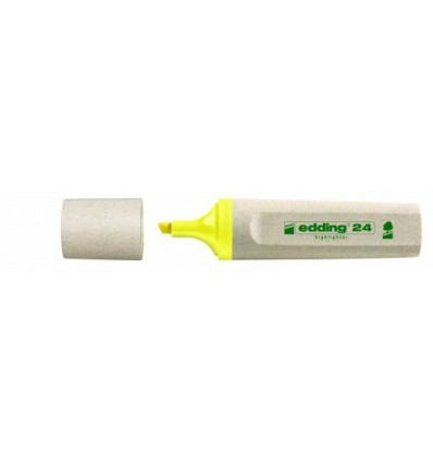 Текстовый маркер EDDING ECO E-24, скошенный наконечник, 1-5мм