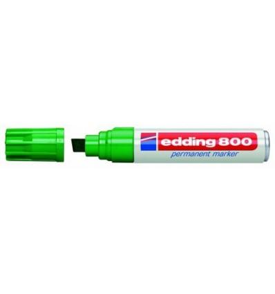 Маркер перманентный EDDING E-800 4-12мм скошенный наконечник