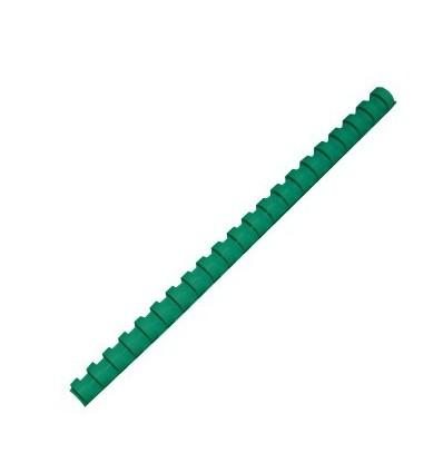 Пружина для переплёта, 19мм (170л), пластик, 100 штук