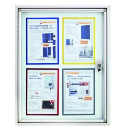 Доска витрина магнитно-маркерная Magnetoplan CC 650х790мм для наружного использования