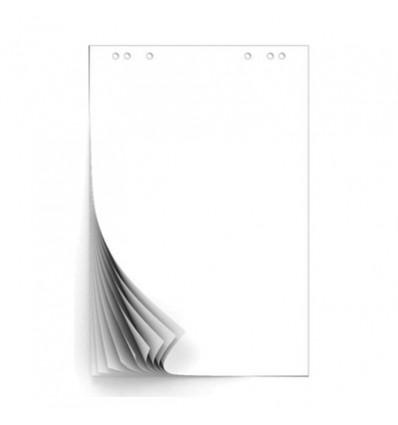 Блокнот для флипчартов белый 67,5х98 80гр, 10 листов