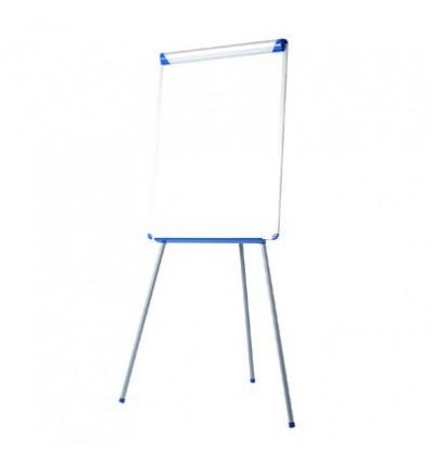 Флипчарт магнитно-маркерный на треноге Bi-Office, 70х102 см, рама серо-синяя