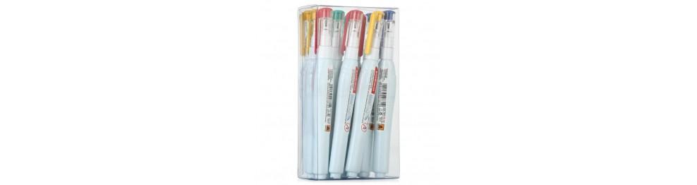 Корректирующие карандаши и корректирующие ленты